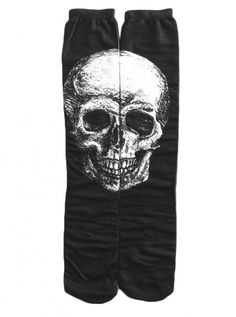 Save on Skull Knee High Socks by Inked (Black) atInkedShop.com, and get coupon codes and deals every day!