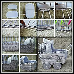 If you are a super fan of using newspaper for crafting you are going to adore this ultimate list of newspaper craft ideas. Recycled Paper Crafts, Toilet Paper Crafts, Diy And Crafts, Newspaper Basket, Newspaper Crafts, Willow Weaving, Basket Weaving, Dollhouse Furniture, Miniature Furniture