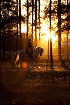 riding into sunrise, great