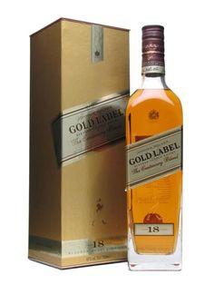 #Johnnie Walker Gold Label 18 Year Old