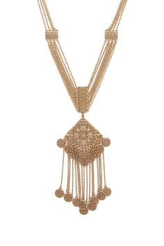Filigree Medallion Necklace | Forever 21