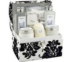 Profitieren Sie vom süsslichen Aroma des White Tea Wellness-Sets.