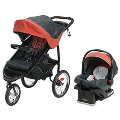 Graco FastAction Fold Jogger Travel System - Rixen