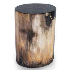 Hollywood Petrified Wood Stool PF-2034// #aire #furniture #petrifiedwood #modern #decor #stool
