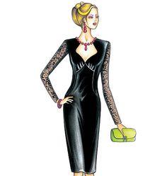 F3636, Marfy Dress