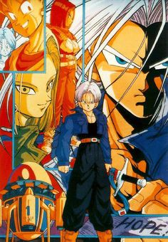 #DBZ Dragon Ball Z: The History of Trunks