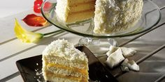 Triple layer coconut cake from clabbergirl.com