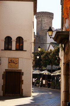 Carrers de Tossa de Mar Girona Catalonia