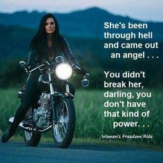 Awesome Harley Davidson photos are offered on our web pages. look at this and you wont be sorry you did. Lady Biker, Biker Girl, Easy Rider, Biker Quotes, Motocross Quotes, Sportbikes, Cafe Racer, Biker Chick, My Ride