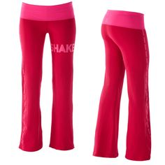 Zumba pants, yes please! They're pink and super cute...and let's face it, I do need workout clothes other than the 1 outfit I have.