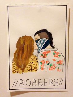 robbers - the 1975. by @maya876876