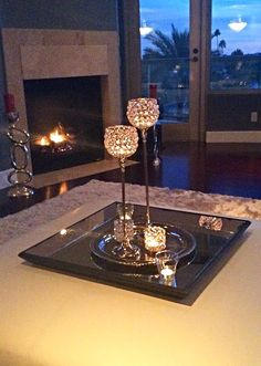 We're loving the glamorous glow that our Winston Votive Cups & Tealight Lamps add to @maseratijenn's home.