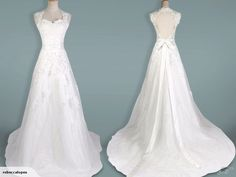 Wedding Dress A-Line Bridal Gown | Trade Me