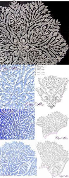 Crochet doily which would make a beautiful mandala, imagine your favorite colors there - Salvabrani - Monika Crochet Tablecloth Pattern, Crochet Doily Patterns, Crochet Chart, Thread Crochet, Crochet Motif, Irish Crochet, Crochet Stitches, Crochet Doily Diagram, Crochet Coaster