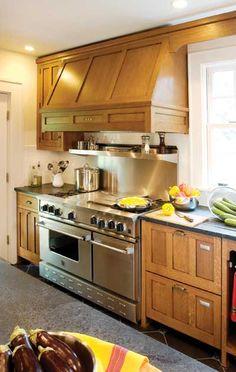 Craftsman - panels conceal dishwasher drawers!