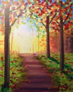 Paint Nite Centralnj | Bertucci\\\\'s (Hazlet) 07/14/2015