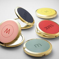 Gift Idea For Women`s  Spring Color Enamel Purse Mirror   Who's the fairest of them all? Why the lucky recipient of this mirror, of course! Because this charming enamel mirror will bring a grin to her face each time she sees it and, as they say…when you smile, the world smiles with you.  #Christmas #Christmas2016 #Xmas #ILoveXmas  #XmasIsComming #Xmaslet #Recipes #ChristmasDecoration #Christmastree #Christmassong #Gifts #ChristmasGifts  #ChristmasCountdown
