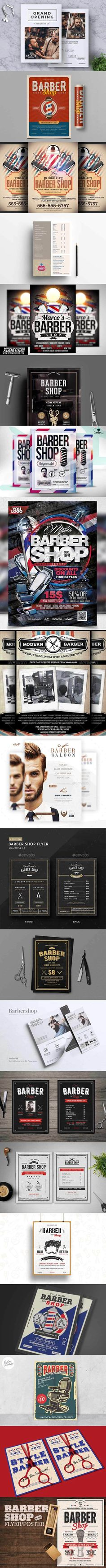 Make Your Own Flyer, Psd Flyer Templates, Ways To Communicate, Promote Your Business, Marketing Tools, Barber Shop, Print Design, Cool Stuff, Barbershop