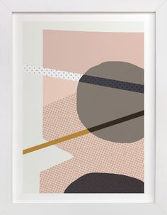 domino by Carrie ONeal at minted.com