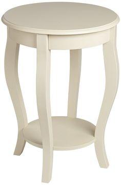 antique white end tables