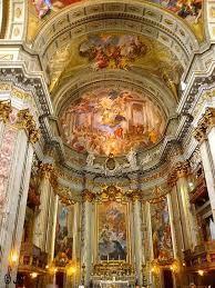 Rome The Church of St. Ignatius of Loyola