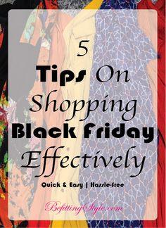 5 Tips On Shopping Black Friday Effectively