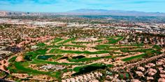 Aerial View of Wildhorse Golf Club and course, Henderson NV (702) 434-9000