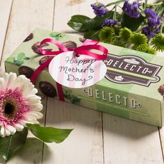 Satisfy mom's sweet cravings with one of our Delecto boxed chocolates this Mothers Day. Chocolate Box, Chocolates, Cravings, Mothers, Gift Wrapping, Tableware, Day, Sweet, How To Make