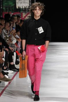 Robert Geller pink pants