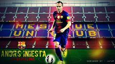 Andrés Iniesta FC Barcelona 2012-2013 Best HD Wallpapers