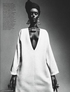 Ondria Hardin in 'African Queen'  Photographed by Sebastian Kim  Scanned by lek - Numéro #141 March 2013