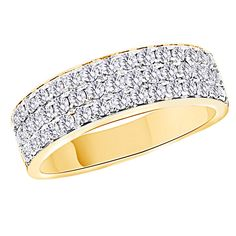14K White Gold Over Infinity Band Engagement Ring $321.96