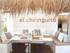 The Chiringuito is a stunning restaurant where you can take advantage of both the delicious Ibiza cuisine and the beautiful beach