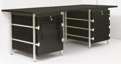 Bergwood Desk - Circa 1975 - Desk Table - Furniture - Via Antica