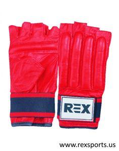 Shop It Now | Red Martial Art Gloves | REX Sports