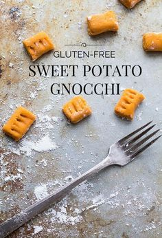 5 Ingredient Gluten-Free Sweet Potato Gnocchi recipe