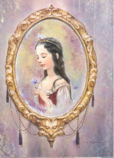 "Itsuko Azuma illustration for ""Snow White""."