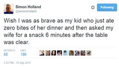 The Funny Parents Of Twitter Talk The Special Joys Of Eating With Kids