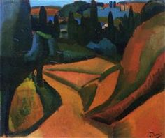 Landscape near Martigues - Andre Derain