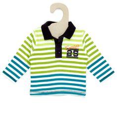 Polo rayé en jersey Bébé garçon - Kiabi - 8,00€