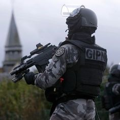Police Nationale, Service Public, Tac Gear, Airsoft Guns, Special Forces, France, Warriors, Badass, Weapons