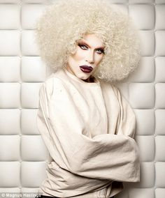Sharon Needles says: 'to me, Sharon Needles is a temporary demonic possession, which no priest or clergy can expel'
