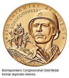 Inside the Mint: Congressional Gold Medal Awarded to the 65th Regiment, the Borinqueneers - Coin Community Forum