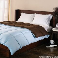 All-Season Luxurious Reversible Down Alternative Comforter | Overstock.com