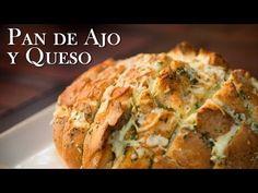 Pan relleno de queso, ajo y perejil ¡Delicioso y muy fácil de preparar! - YouTube