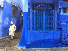 The Blue World of Chefchaouen - Annie Wright Photography Morocco, Fair Grounds, World, Photography, Blue, Color, Photograph, Fotografie, Colour