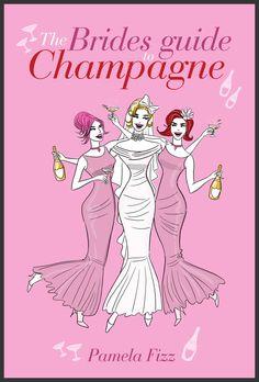 Illustration for Pamela Fizz's Champagne E-books on champagne, 2012. #girlyillustration #illustration #fashion #book cover #champagne