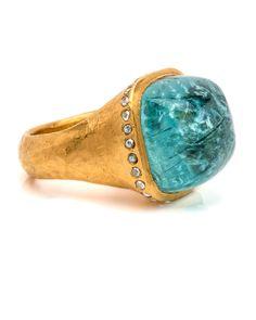 Yossi Harari   Parabia Tourmaline Ring   Rings   Jewelry