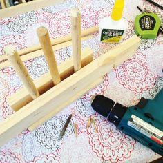 Make your own washi tape holder
