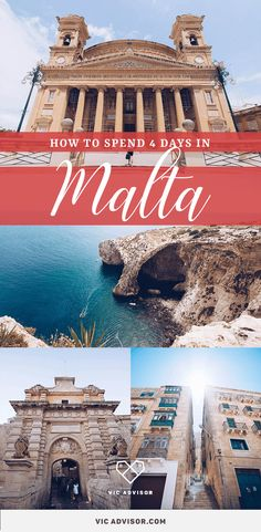 As one of the smallest countries in Europe, Malta makes a great short break destination for anyone in search of … Backpacking Europe, Europe Travel Tips, Travel Guides, Traveling Europe, Travelling, Short Breaks Europe, Cool Places To Visit, Places To Travel, Cruise Destinations